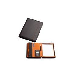 Zippered Non Leather Compendiums